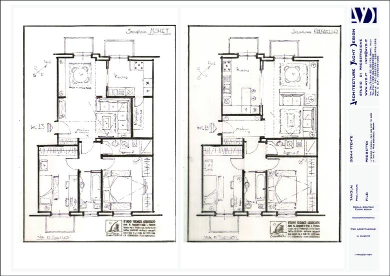Progettazione preliminare for Progettazione del layout del garage