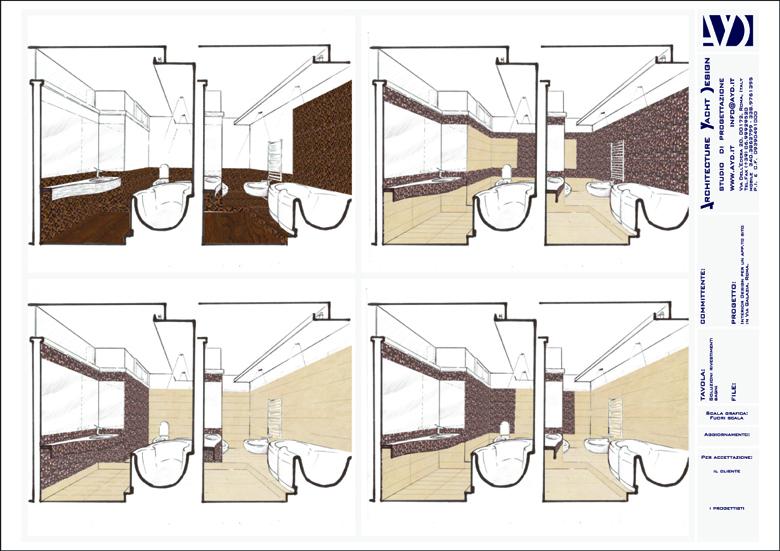 Consulenza nella scelda dei materiali for Arredi bagno roma